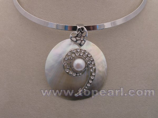 Fashionable shell pendant jewelry